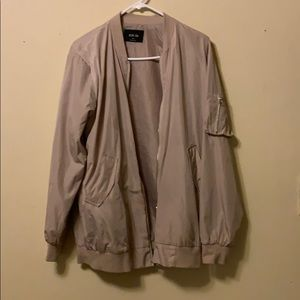 Jackets & Blazers - Long bomber jacket